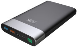 Внешний аккумулятор Vinsic 20000mAh Ultra Slim External Quick Charger 3.0, Type C, Smart USB, VSPB303 (Серый)
