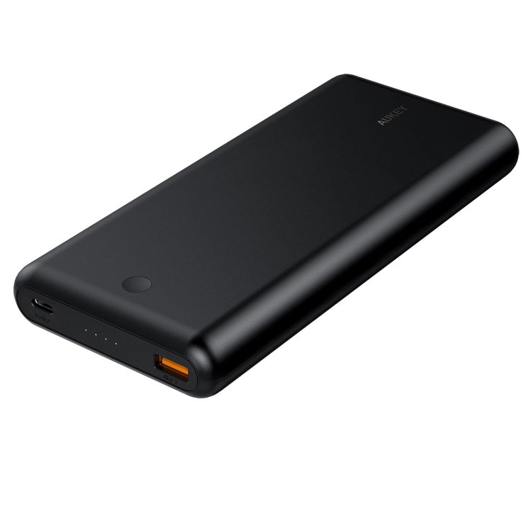 Внешний аккумулятор Aukey 26800mAh USB C Power Delivery 3.0 Power Bank With Quick Charge 3.0 для  для Macbook, Dell XPS, Xiaomi Air, Pro, Acer Swift, Lenovo Yoga, Samsung, Google, Apple, PB-XD26 (Черный)